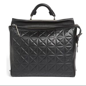 Phillip Lim 3.1 Small Ryder Geometric Embossed